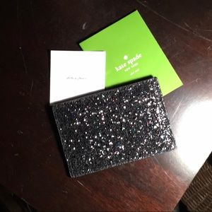 KATE SPADE GRAHAM GRETA COURT CARD HOLDER BLACK